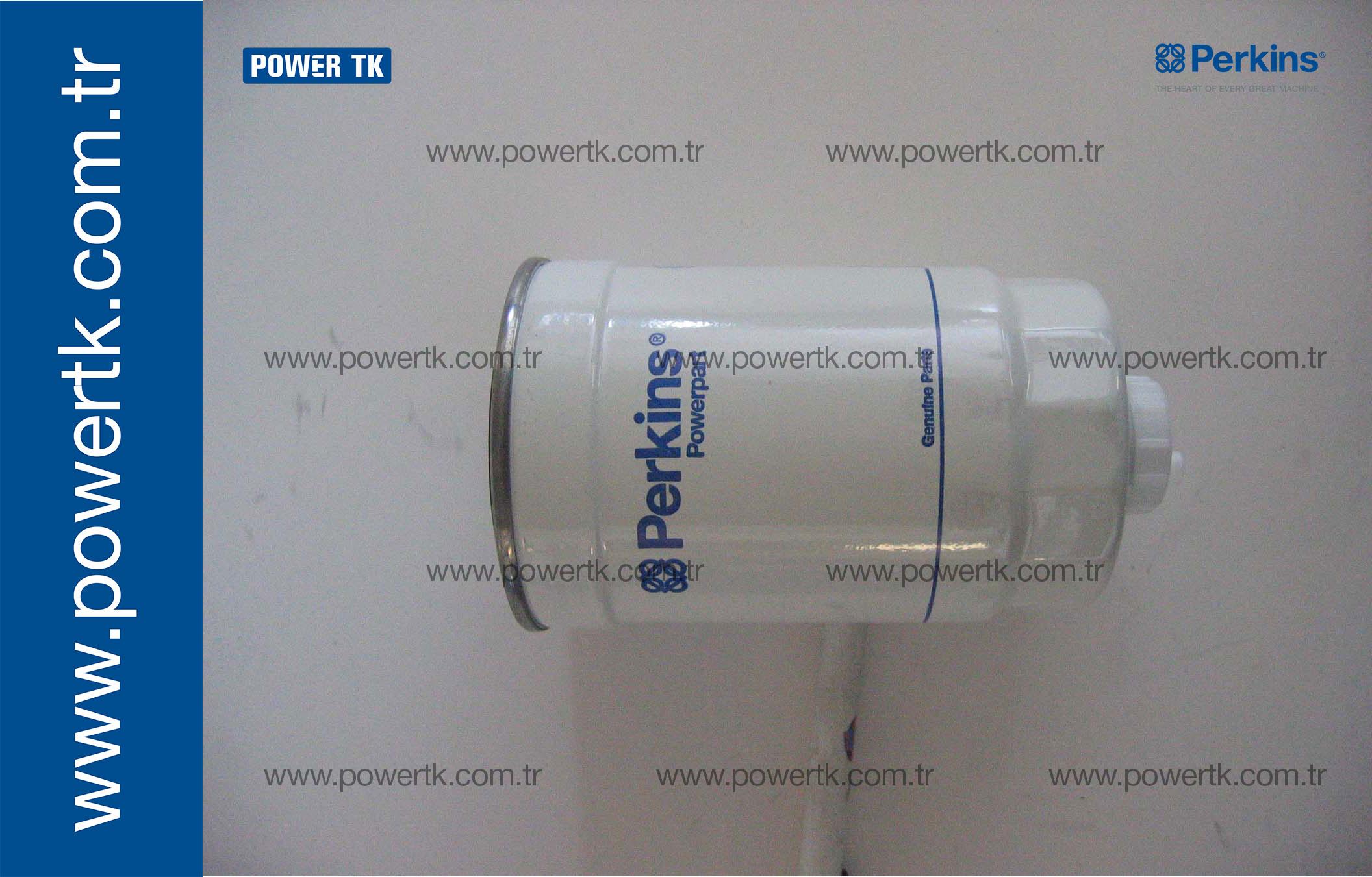 26561118 Fuel Filter Perkins 26560154 26560608 Baldwin Housing Zoom